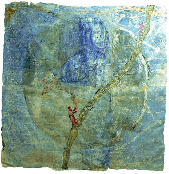 Atalanta au portrait bleu