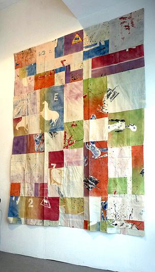 Marcel Alocco, fragment du patchwork