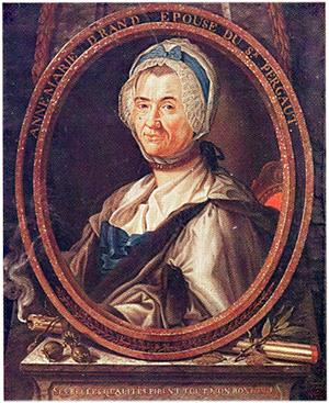 Dominique PERGAUT, Portrait de Anne-Marie DRANT